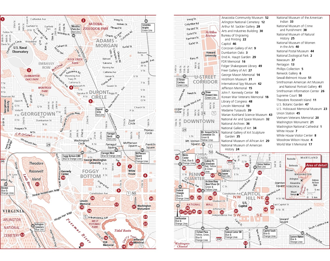 Maps Update  Tourist Map Of Washington Dc Pdf  Washington - Washington dc area map pdf