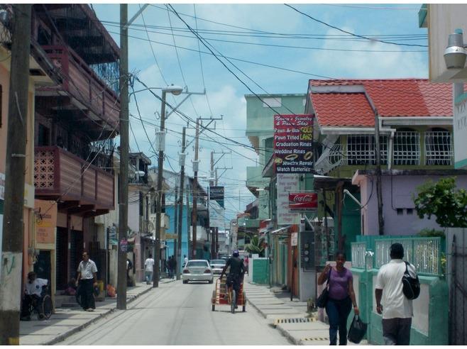 Belize City Downtown