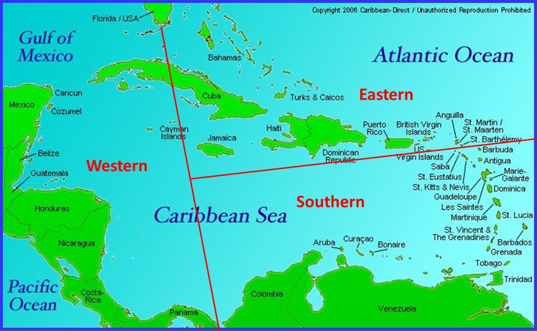 Us Virgin Islands Vs British Virgin Islands Map